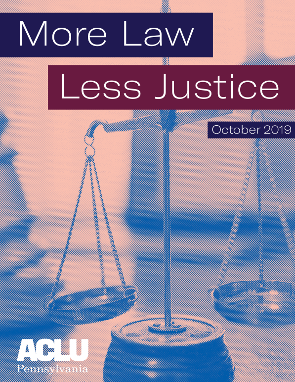 More Law, Less Justice Cover