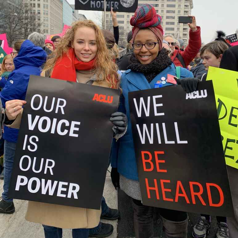 Our voice is our power