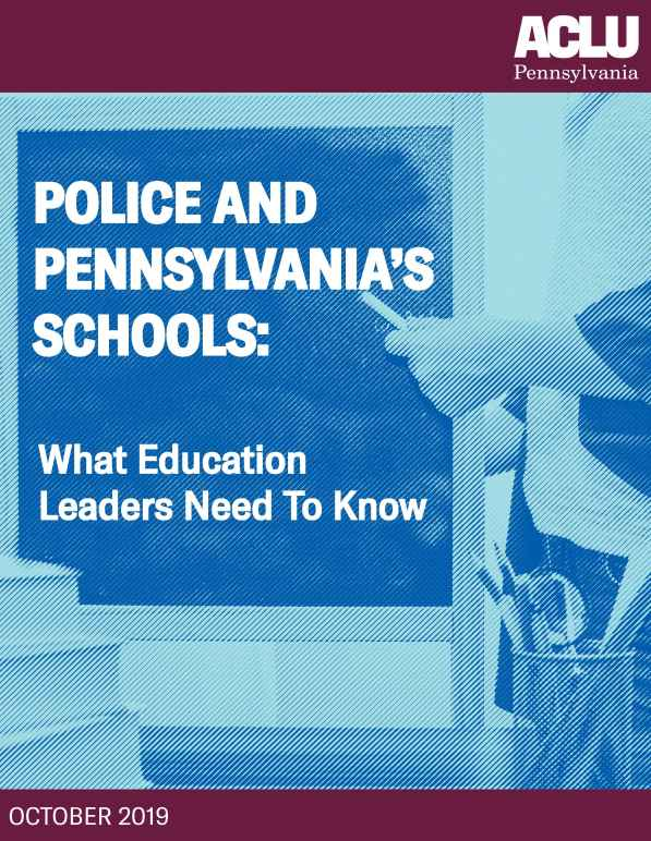 Police and Pennsylvania Schools