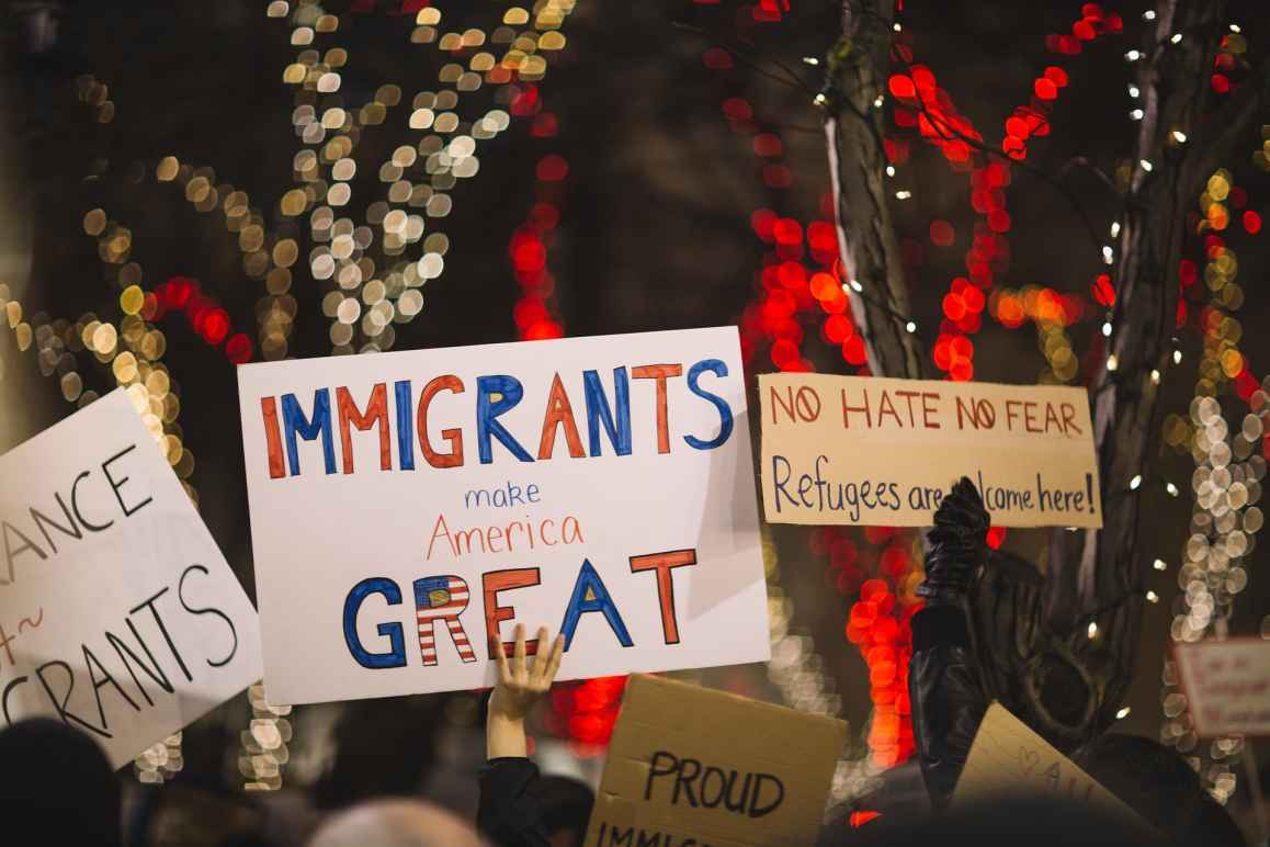 immigration protest
